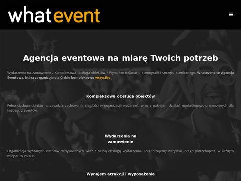 Whatevent.pl organizacja imprez