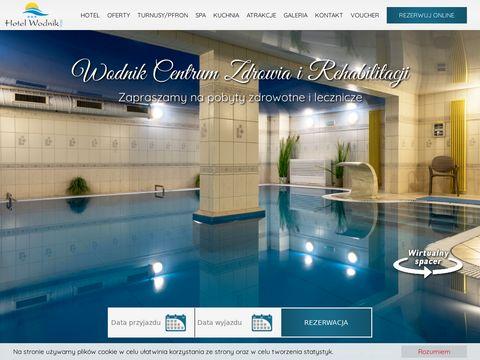 Wodnik - hotel nad morzem