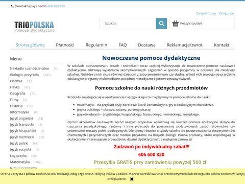 Trio Polska - pomoce dydaktyczne dla szkół