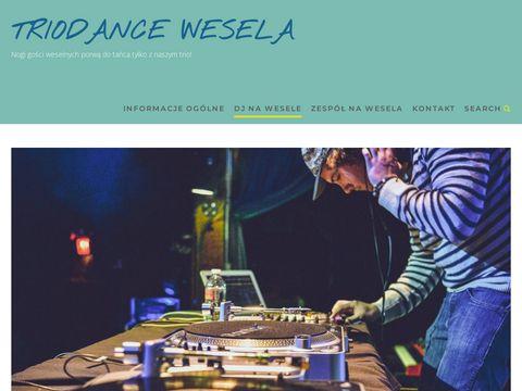 Triodance.com.pl zespół muzyczny na wesele