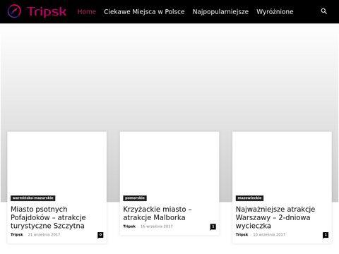 Tripsk.pl atrakcje turystyczne