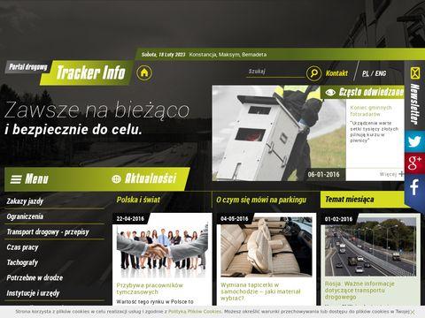 TrackerInfo.eu - portal drogowy