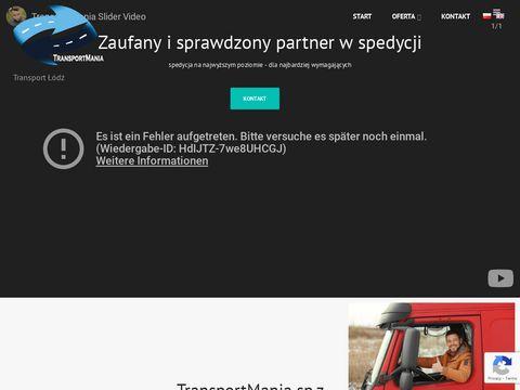 TransportMania.pl - spedycja krajowa