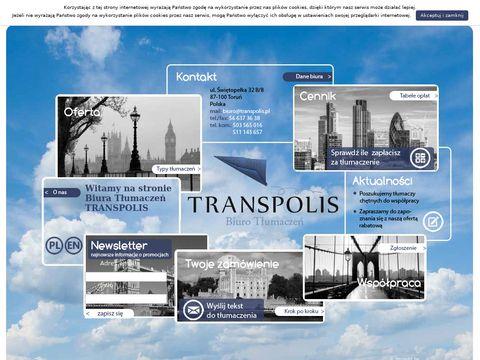 Transpolis - tłumaczenia Toruń