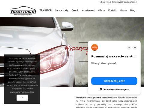 Transtor.pl wynajem aut Toruń