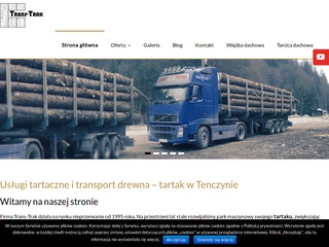 Trans-Trak tartak Nowy Targ