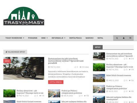 TrasyMasy.pl - gps ma rower