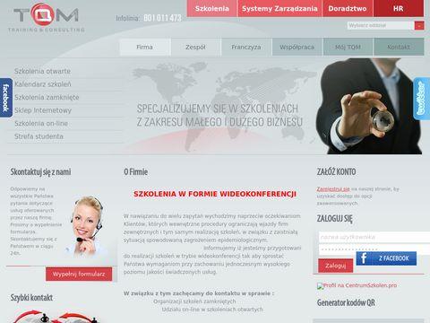 Szkolenia ISO on-line, doradztwo zawodowe