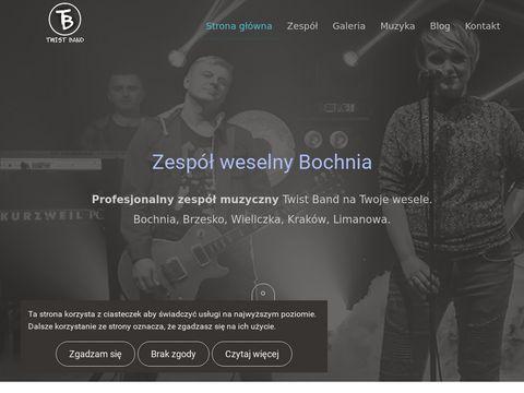 Twistband.pl zespół weselny z Bochni