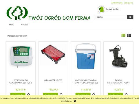 Twoj-sprzedawca.pl systemy nawadniające