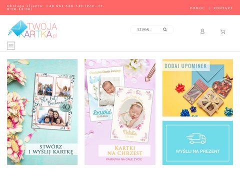 Twojakartka.pl personalizowane kartki ślubne
