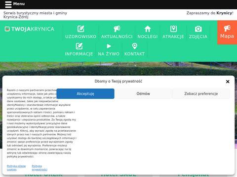 TwojaKrynica.pl - serwis turystyczny