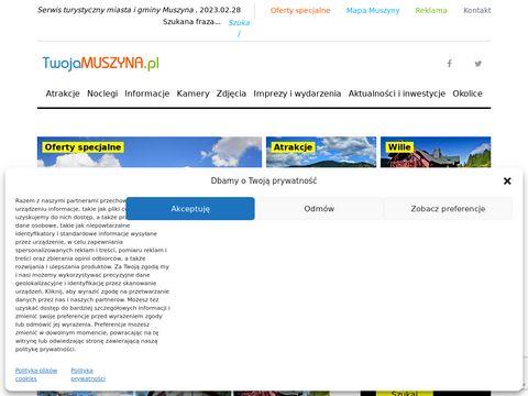 Twojamuszyna.pl - serwis turystyczny