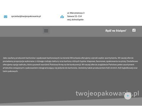 Twojeopakowanie.pl sklep z folią bąbelkową