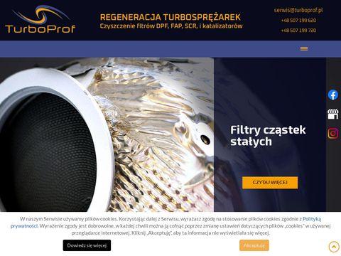 TurboProf regeneracja turbosprężarek Poznań