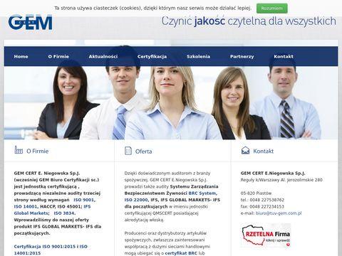 Tuv-gem.com.pl