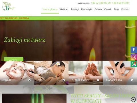 Tutti Beauty darsonwalizacja Gliwice