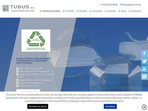 Tubus producent opakowań foliowych