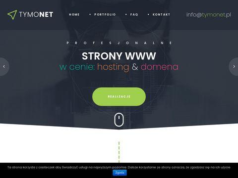 Tymonet - tworzenie stron www - Toruń