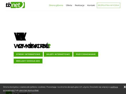 TBnet.pl - pozycjonowanie stron Olsztyn