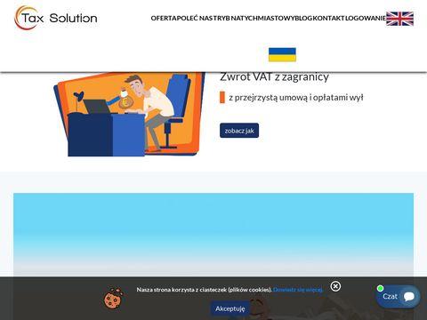 Zwrot VAT z UE za pośrednictwem Tax Solution