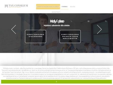 Taxconsilium.com kursy excel