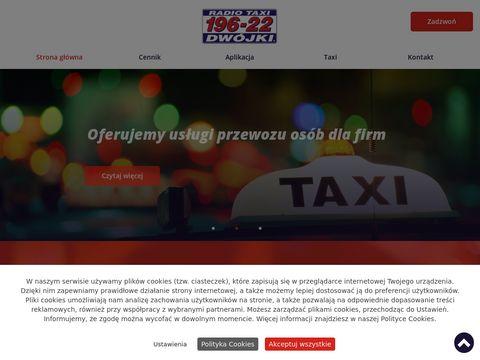 Dwójki Radio-taxi bagażowe Kraków