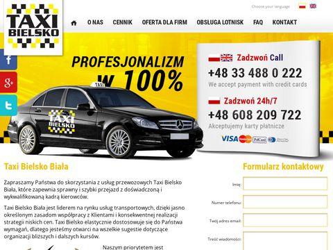Taxi-bielsko.pl biała - lider jakości usług