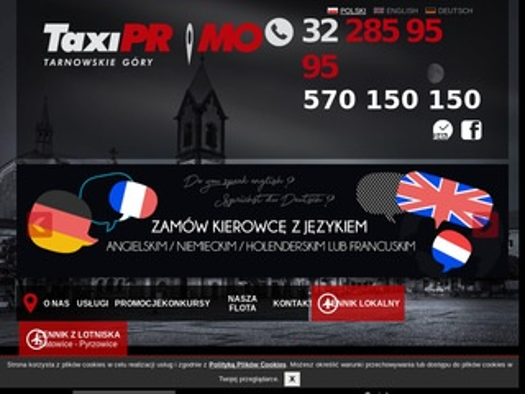 Taxi Promo - firma taksówkarska ze Śląska