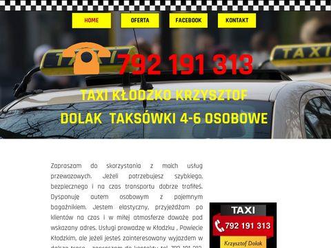 Krzysztof Dolak taxi Kłodzko
