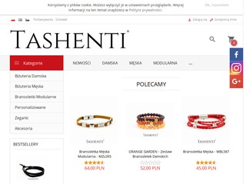 Tashenti - bransoletki i biżuteria