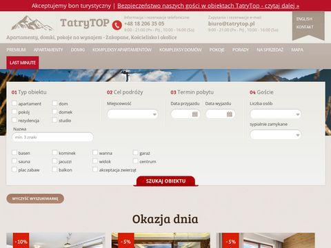 Tatrytop.pl - domki Zakopane