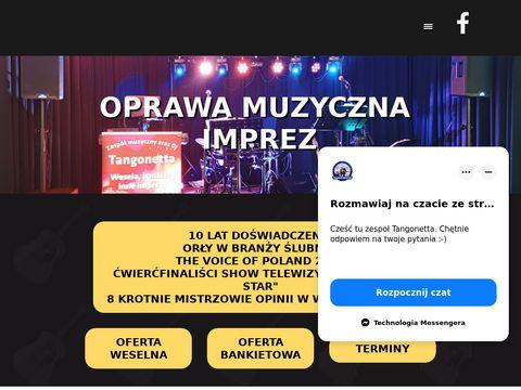 Zespół na wesele Tangonetta - Wrocław, Oleśnica