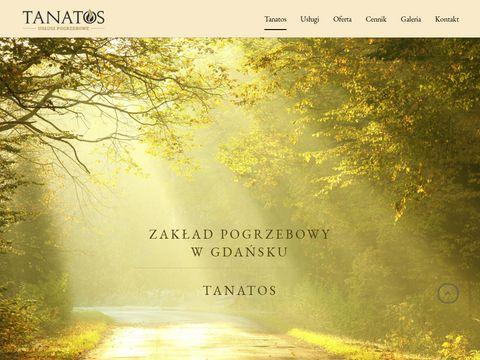 Tanatos.gda.pl usługi pogrzebowe