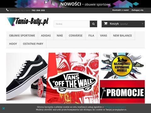 Tanio-buty.pl - sklep sportowy Nike, Adidas