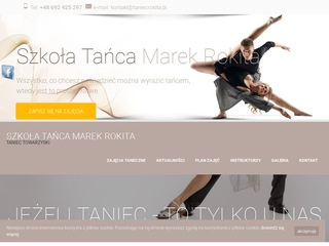 Szkoła tańca gorzów Marek Rokita