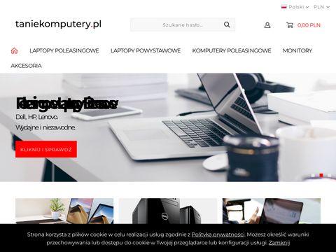 Tanie laptopy używane, poleasingowe, notebooki Dell