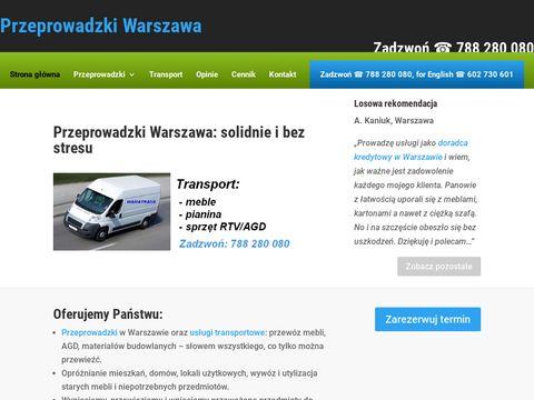 Tanie przeprowadzki Warszawa