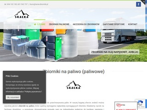 Skałka F.H.U. Dystrybutor zbiorników na paliwo