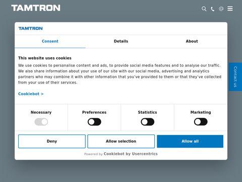 Tamtrongroup.com dynamiczne wagi kolejowe