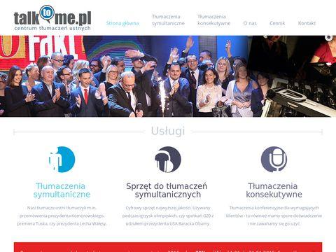 Talktome.pl tłumaczenia symultaniczne Wrocław