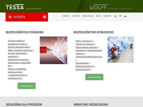 Tessa.eu - serwis urządzeń przemysłowych