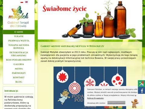 Terapiedlazdrowia.com.pl gabinet Motylek