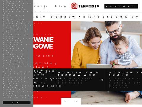 Termolit.pl wylewki anhydrytowe na ogrzewanie