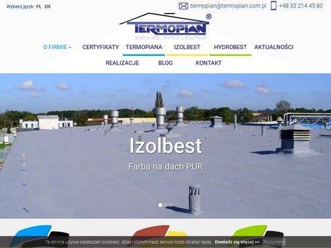 Termopian.com.pl natrysk pianki