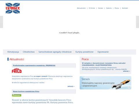 Termex.net.pl klimatyzacja, chłodnictwo