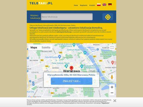 Teletaxi.pl jaką taksówkę zamówić w obcym mieście