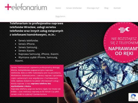 Telefonarium.pl naprawa i serwis iPhone Wrocław