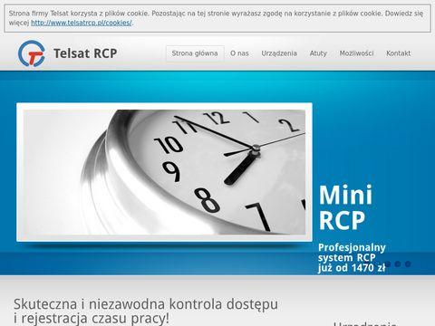 Rejestracja czasu pracy z pomocą firmy Telsat RCP