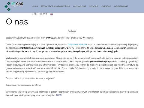 Tech-gas.pl gazy techniczne